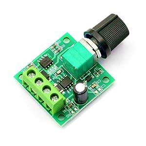 DaFuRui 3Pcs 1.8v 3v 5v 6v 12v 2A 30W Low Voltage DC Motor Speed Controller PWM 1803BK 1803B Adjustable Driver Switch