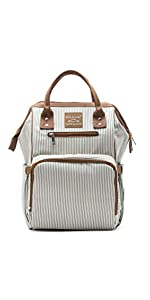 Metropolitan Diaper Backpack in NY Stripe