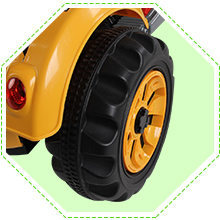 6V Kids Electric Ride on Toy Excavator Construction Trunk Engineering Car