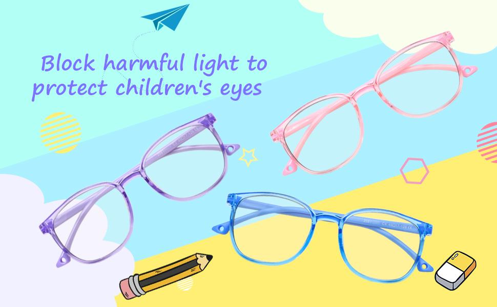 ANTI BLUE LIGHT GLASSES FOR KIDS