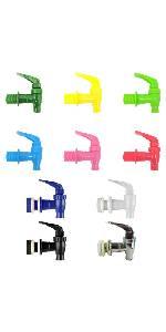 dispenser faucet colors