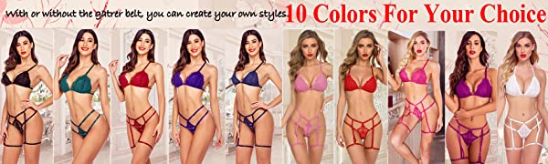 garter lingerie set
