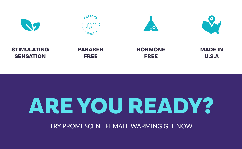 Promescent female lube is paraben free, hormone free and made in the USA