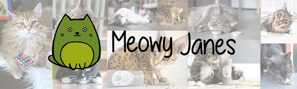 Meowy Janes All Natural Catnip and Catnip Alternatives Meow Jane nip mint cat all natural fresh toy