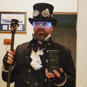 COOFANDY Mens Ruffled Gothic Shirts Victorian Steampunk Renaissance Costume Shirt Medieval Pirate