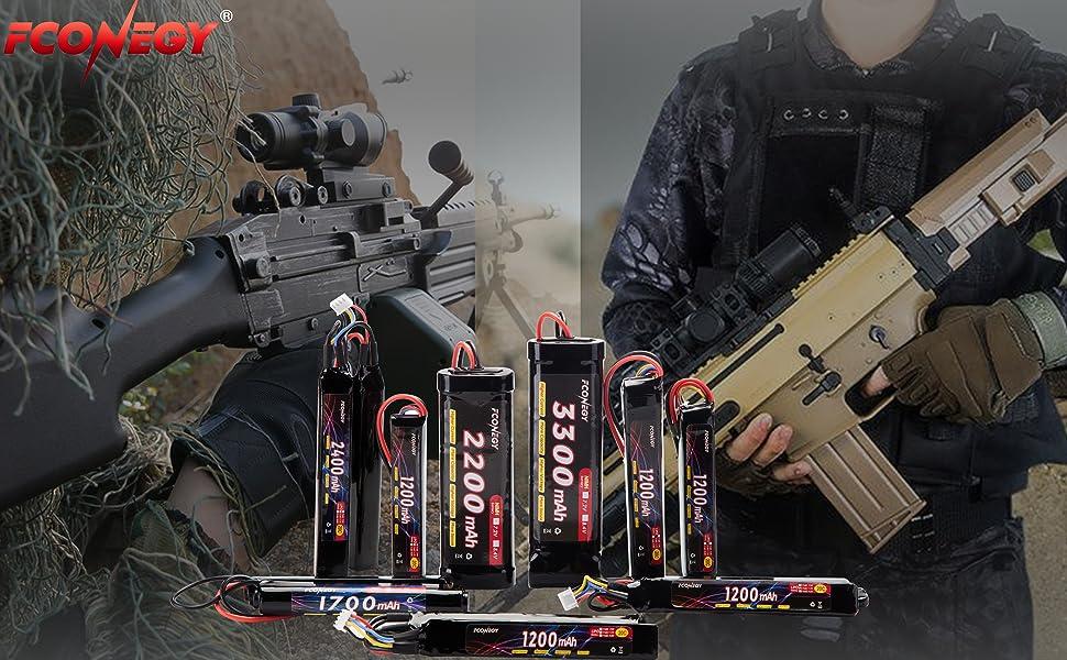 Fconegy Softair Akku 11 1v 1200mah 3s 20c Stick Pack Lipo Batterie Mit Deans T Stecker Fur Airsoft Waffen Gun Pistole Triple Stick Amazon De Sport Freizeit