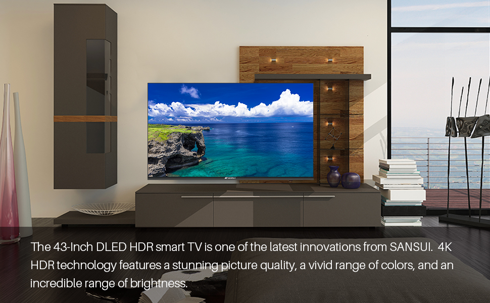 43 inch 4K SMART TV