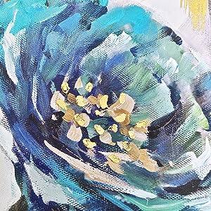 flower artwork for walls