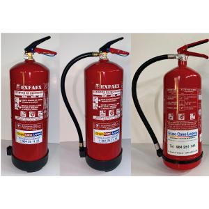 Grupo Cano Lopera   Extintor Universal Polvo Seco ABC con Capacidad de 2 Kg   Homologado   Eficacia 8A - 34B   Útil para Casa - Coche - Caravana - ...