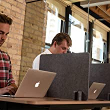 freestanding desk privacy panels