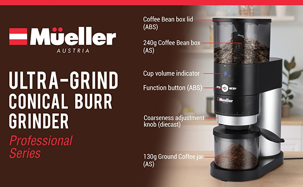 Mueller burr grinder