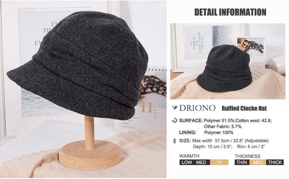 irregular shape hat for girls teen office lady outdoor