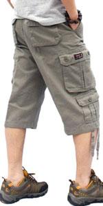 multi pockets short