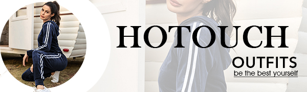 HOTOUCH Tracksuit Sets