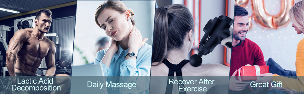 deep tissue massage gun percussion massager theragun massage gun