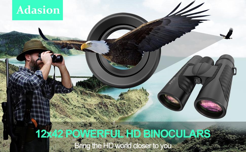 12 x 42 binoculars for adults