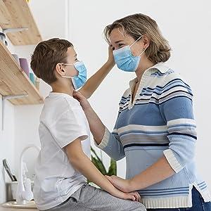 Blue Disposable Face Masks