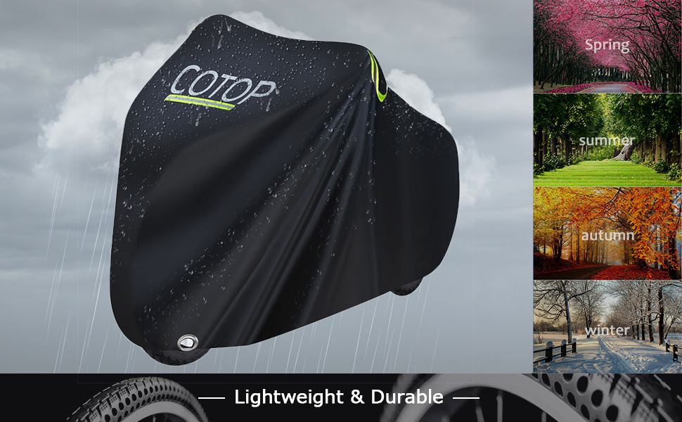 cotop bike cover, suitable for 4 seasons and all kind of weather