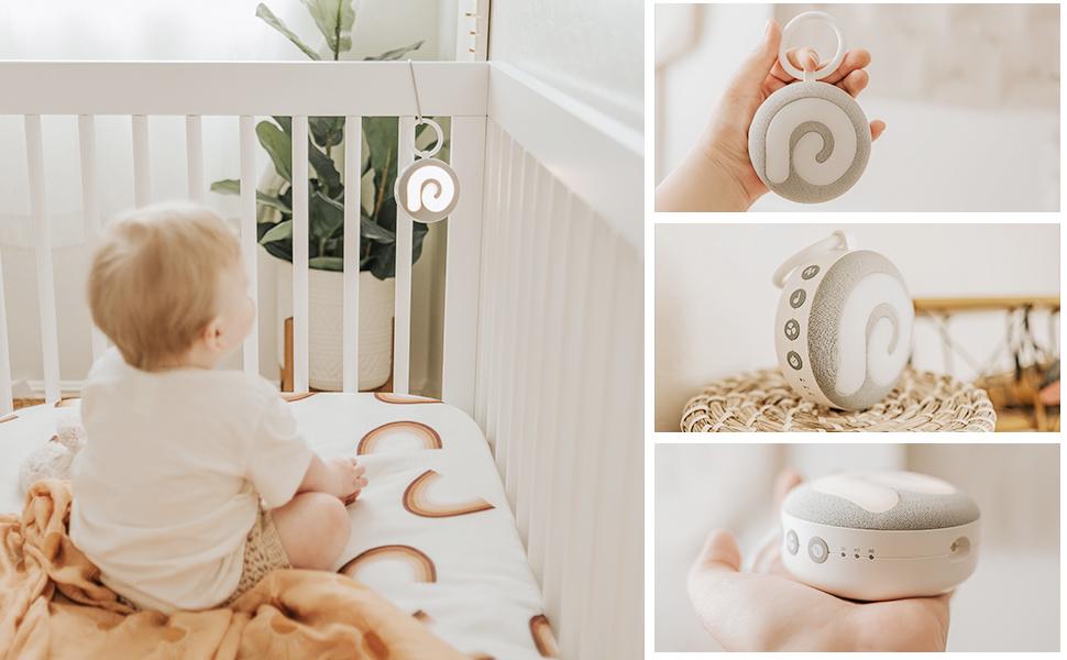 Baby Sound Machine for Sleep Travel