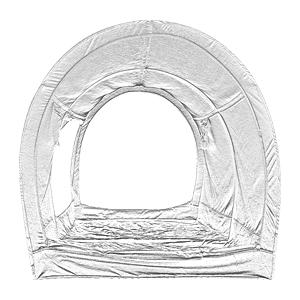 Dark Gray Twin Leedor leedor2005 Bed Tent
