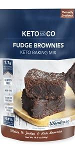 Keto and Co Fudge Brownie Mix