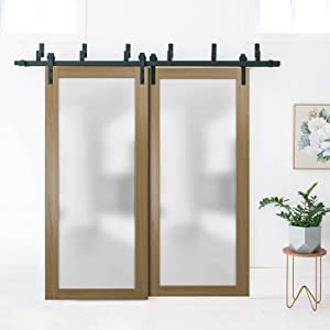 pocket sliding modern door frame hardware set hangers wheels