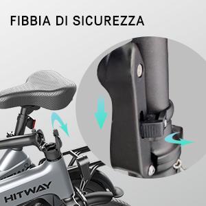 a8d28aa9 31ab 4dd1 baed 1a6a7a4c23d5. HITWAY Bici elettrica Leggera da 250 W Pieghevole elettrica con pedalata assistita con Batteria da 7,5 Ah, 16 Pollici, per Adolescenti e Adulti
