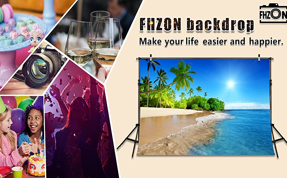 FHZON Photo Backdrop