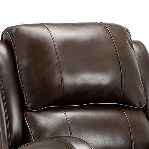 overstuffed chair