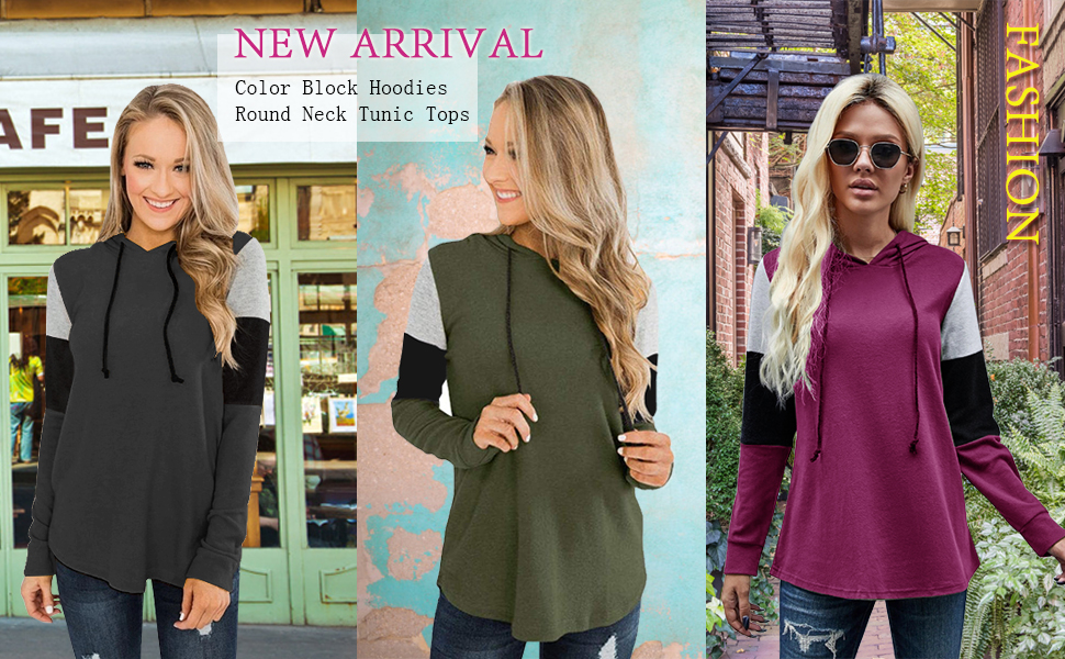 hooded pullover sweaters women