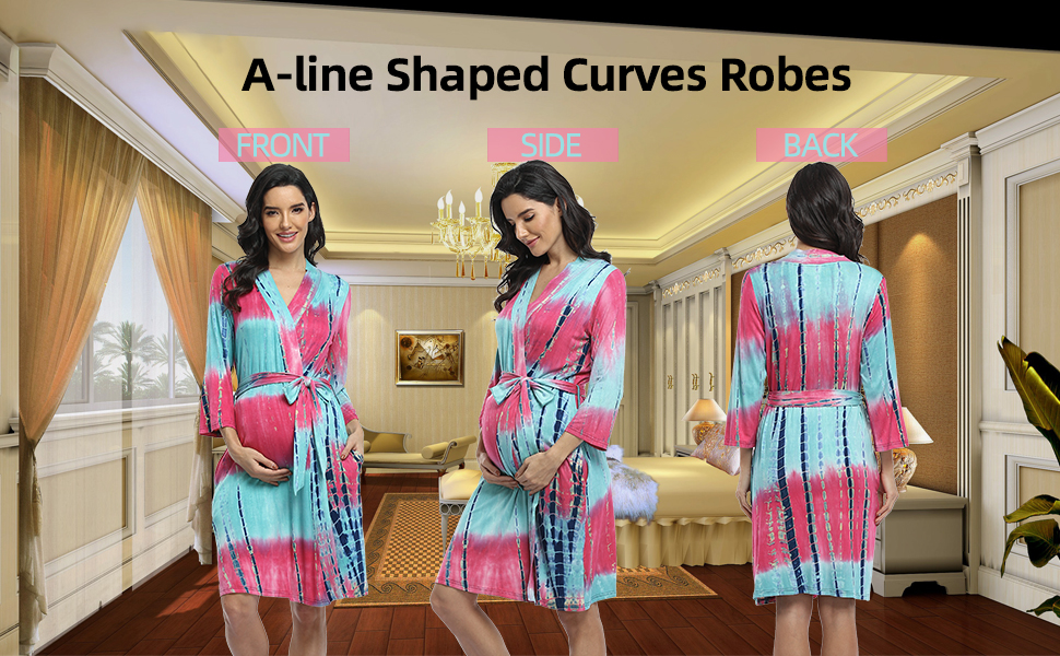 maternity robes for hospital  robes for women delivery robe pregnancy robe