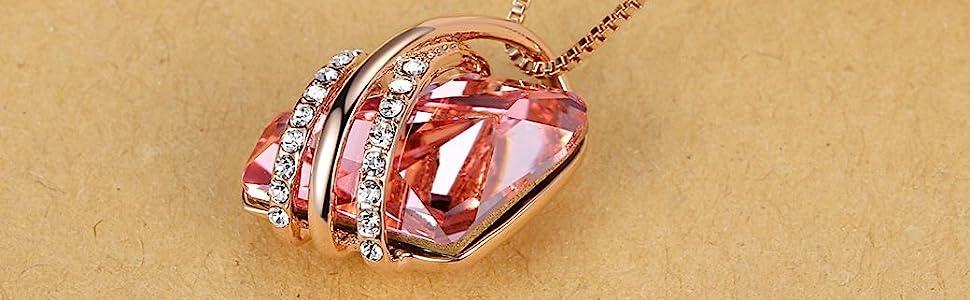Pink wish stone