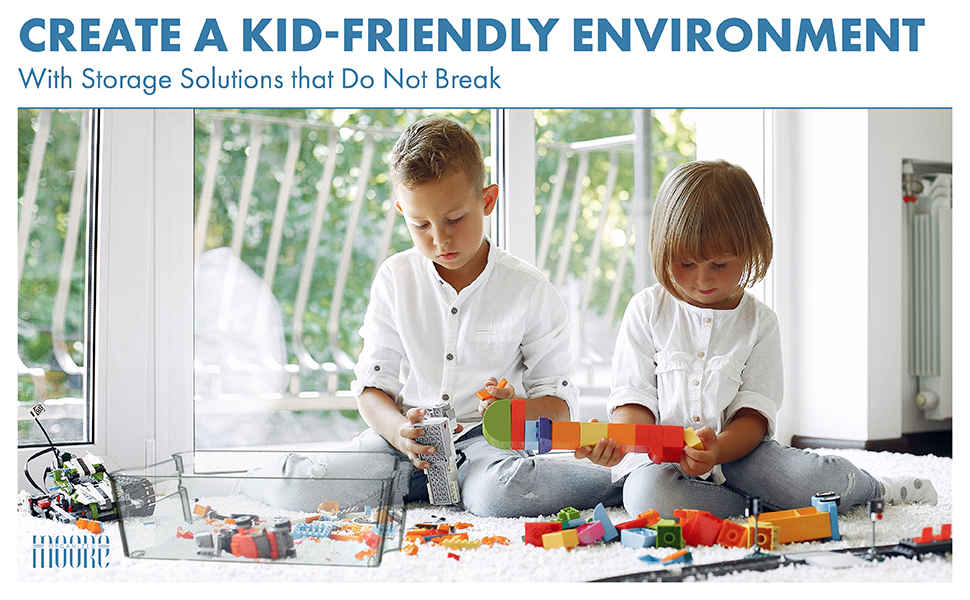 Storage, Solution, Kid-friendly