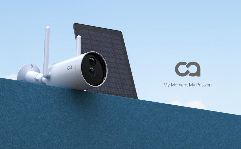 security camera solar powered
