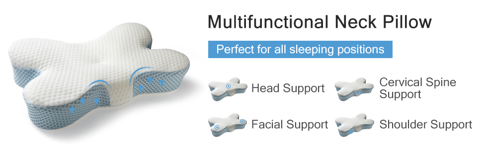 MIZATTO pillow for neck and shoulder pain