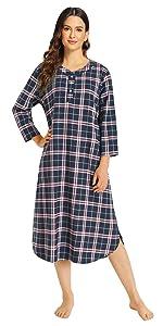 pajamas set for women cotton pajamas set for women plaid flannel cotton for women sleepwear women