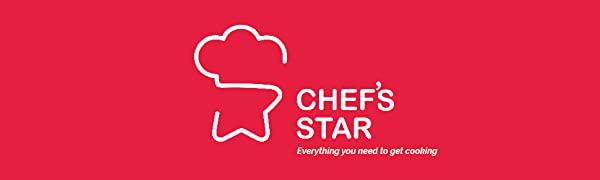 Chef's Star - Macetas (11 piezas), color azul