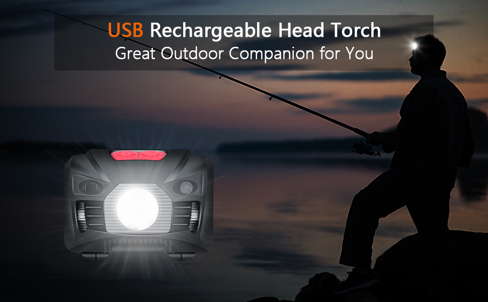 head torch rechargeable