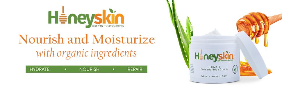 honeyskin ultimate face and body cream