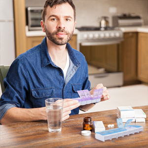 weekly pill organizer twice daily twice a day vitamin organizer twice  pill 2 a day pill organizer