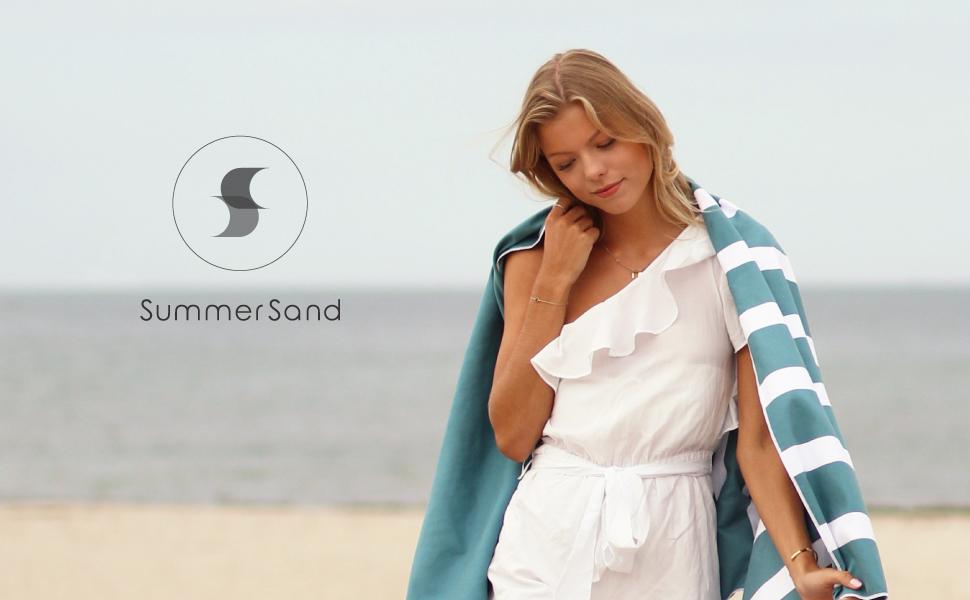 Strandhandtuch groß Liegetuch geruchsneutral Badetücher Mikrofaser Badetuch XXL Handtuch Unterwegs