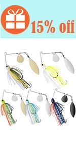 fishing jigs bass spinner baits bass fishing lures