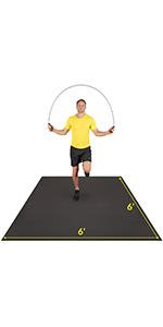 square exercise mat