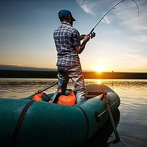 waterproof drybag for fishing