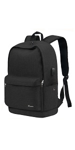 School Backpack, College Middle High Student Anti-Theft Laptop Backpack