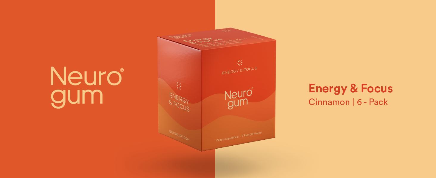 Neuro Gum Cinnamon 6-Pack