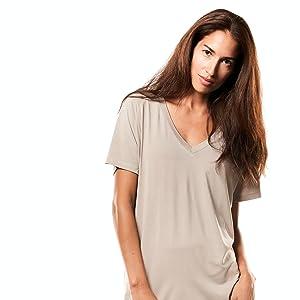 undershirt as nightshirt