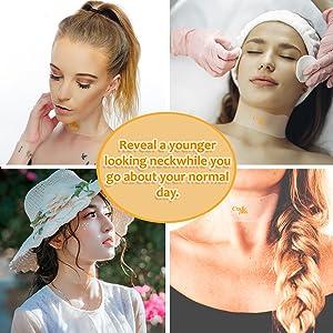 reusable silicone neck mask