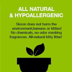 skoon all natural cat litter hypoallergenic