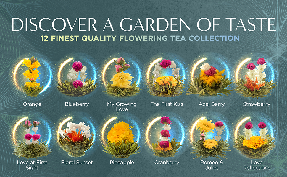 Recommended Blooming Tea Flowers